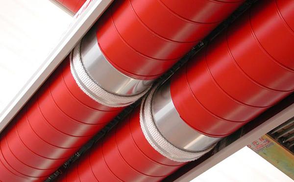 低温大型燃气红外线辐射采暖系统