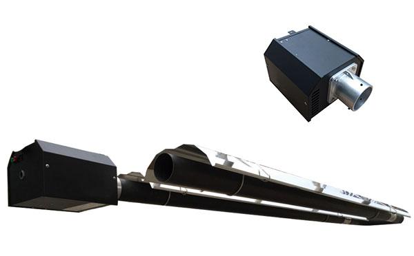 标准负压U型燃气红外线采暖设备