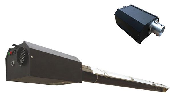 标准正压直线型燃气红外线采暖设备