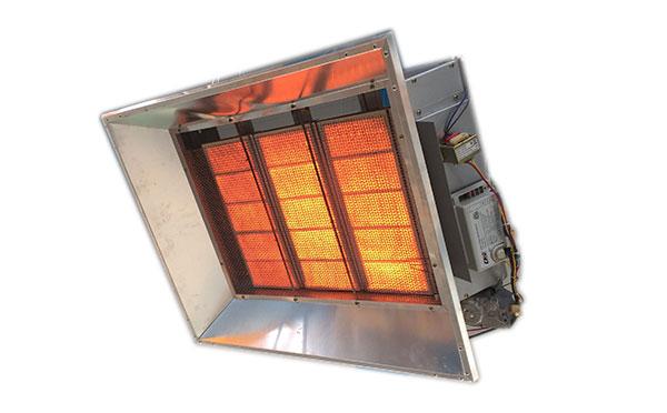 高密度陶瓷板式燃气红外线加热器